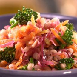 Recette Salade de chou rouge fermenté Carinne Teyssandier