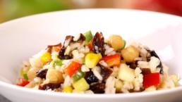salade riz d'été Carinne Teyssandier
