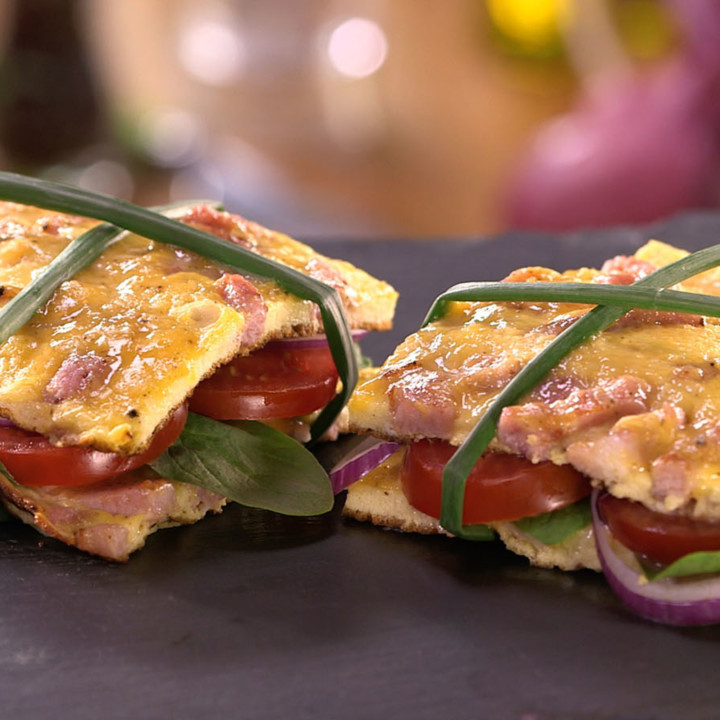 Sandwich Omelette Recette Carinne Teyssandier