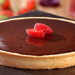 Recette tarte au chocolat Carinne Teyssandier