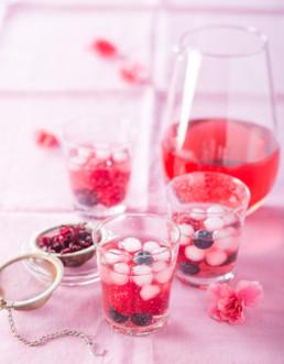 Recette Boisson d'été à l'hibiscus Carinne Teyssandier