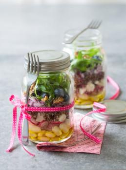 recette salade en pot carinne teyssandier