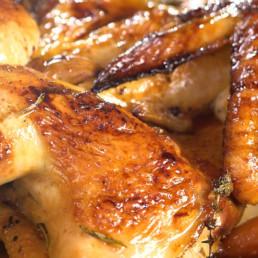 Recette poulet en crapaudine Carinne Teyssandier