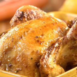 Recette poulet rôti Carinne Teyssandier
