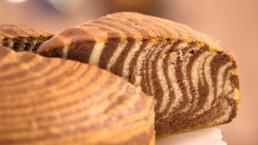 Gâteau tigré recette Carinne Teyssandier