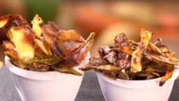Chip's sucrées salées recette Carinne Teyssandier