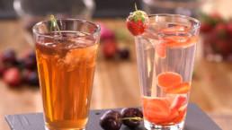 Eau de fraises recette Carinne Teyssandier