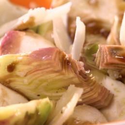 Recette de Carpaccio d'artichaut poivrade