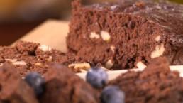 Brownie au chocolat rapide zoom - Carinne Teyssandier