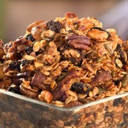 Recette du granola au chanvre - Carinne Teyssandier