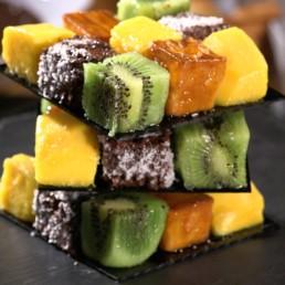 Recette fruitée du cube cake