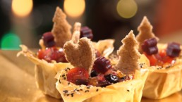Recette de salade de Noël - Carinne Teyssandier