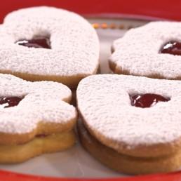 Recette du biscuit coeur d'amour - Carinne Teyssandier