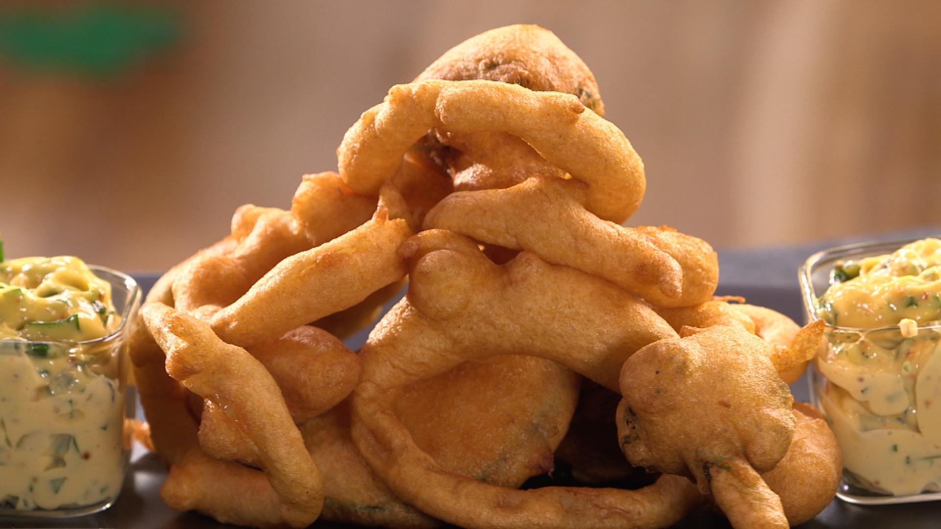 Beignet De Brocolis Au Four beignets à la farine de pois chiches et à la bière - carinne