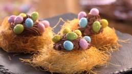 Recette des Gâteaux Nid de Pâques - Carinne Teyssandier